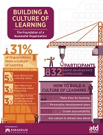 Culture of learning infographic